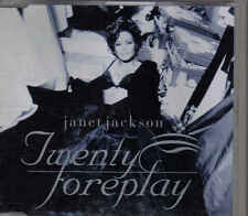 Janet Jackson-Twenty Foreplay Promo cd single