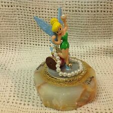 Disney Peter Pan Ron Lee TINKER BELL JEWELS PLAY TIME 1998 LE Figurine
