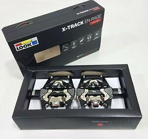 Look X-Track EN-Rage Plus Chromoly+ Clipless Pedal -For Enduro Practice (Black)