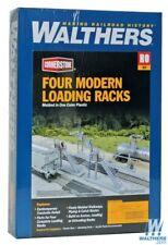 Walthers 933-4037 Modern Loading Racks Kit Pkg (4) Ho Scale Train