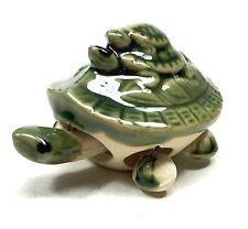 "3"" Ceramic Turtle Figurine Animal Asian Style Chinese Statue Long Life Symbol"