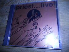 "JUDAS PRIEST ""PRIEST...LIVE"" 1987 CD ALBUM LIVE RECORDING 16 LIVE TRACKS CBS OOP"