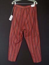 Vintage 1960'S Deadstock Never Worn Striped Wool Capris Sz 31 Inch Waist