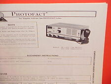 1976 GEMTRONICS / GEM MARINE CB RADIO SERVICE MANUAL MODELS GB-11935 & GTX-2300