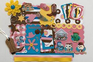 Disney Sheriff Callie Custom Mini Book Album Kit Scrapbook