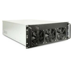 "Case IPC Server 4F28 Mining Server Gehäuse 19"" Rack-Gehäuse mit 4HE"