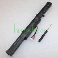 Battery for Asus K555Z D451V X450J X550D A450 K550D R752L F751L VM590Z A41-X550E