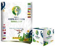 Panini CONMEBOL Copa America Brasil 2019 Official Sticker Album + 1 Box