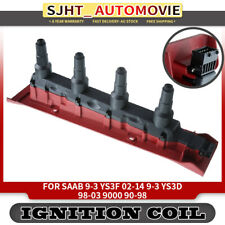 Ignition Coil Pack fit Saab 9-3 YS3F YS3D 9000 2.0 2.3 Turbo Eco Power 1990-2000