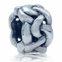 AUTH Nagara 925 Sterling Silver Celtic Knot European Charm Bead