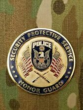 CIA POLICE , HONOR GUARD ,SECURITY PROTECTIVE SERVICE, CHALLENGE COIN
