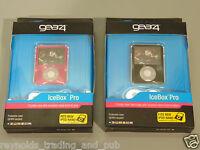 iPod Nano 3º generación FUNDA ROSA O NEGRO Gear4 DURO Icebox 3gen 3g Cristales