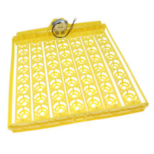 Automatic 56- Egg Turner Chicken Duck Quail Birds Poultry 110V Incubator Tray
