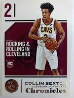 2018 18-19 Panini Chronicles Collin Sexton Rookie RC #17, Cleveland Cavaliers