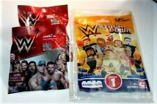 (2) WWE Mattel Mighty Mini's - (1) WWE Stack-Down C3 Series1 (3) Blind Bags 2015