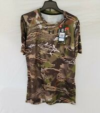 New Boy's UA Hunting T Shirt Loose Fit UA Forest Camo YXL