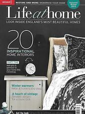 Life at Home magazine Interiors Vintage classic designs Restoration Autumn reds