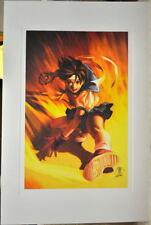 Street Fighter - SAKURA KASUGANO LIMITED EDITION PRINT Capcom Arnold Tsang art