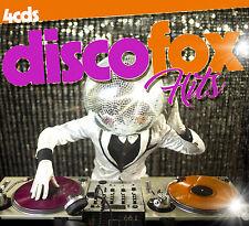 CD Disco Fox Hits de Varios Artistas 4CDs