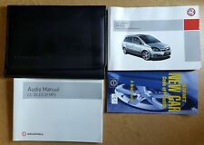 GENUINE VAUXHALL ZAFIRA B OWNERS MANUAL HANDBOOK WALLET 2005-2008 PACK C-973