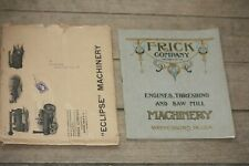 1912 FRICK Company Engines, Threshing Machinery in Original Shipping Sleeve