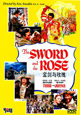 The Sword and the Rose (1953) - Richard Todd, Glynis Johns - DVD NEW