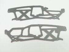 HPI SAVAGE SS 4.6/4.1 Chasis x 1/8 X TVP de placas de chasis TVP de Aluminio (ambos)