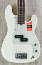 Fender American Professional Precision V 5-String Bass, Olympic White, Rosewood