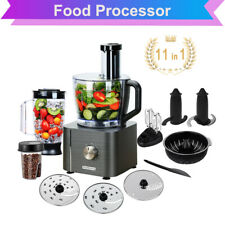 11 in 1 Küchenmaschine Profi Standmixer 4,7 Liter Rühr- und Knetmaschine 1100W