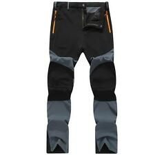 Men Waterproof Outdoor Hiking Climbing Combat Trousers Tactical Pants Plus Size