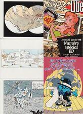 CARTOONS Dessins Animés BD 141 Modern Postcards Incl. Tin Tin
