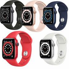 APPLE Watch 6 GPS 40mm   44mm Aluminium mit Sport Band Verschiedenen Farben