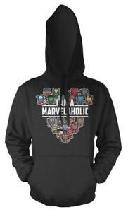 Marvellous Avengers Im A Marvelaholic Adult Hoodie