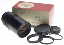 LEICA TELYT-R 1:4/250mm CAMERA LENS f=250mm CLEAN CONDITION 11920 FILTER BOXED