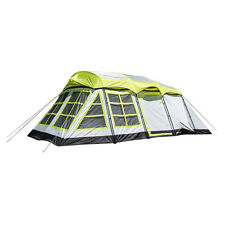 Tahoe Gear Glacier 14-Person 3-Season Cabin Tent + Rain Fly | TGT-GLACIER-19-B