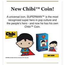 PRE-SALE 2020 New Zealand Mint DC Chibi Coin SUPERMAN 1 OZ SILVER PROOF SOLD OUT