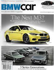 BMW Car Auto Magazine M3 3 Series Generations Alpina D5 Restored E9 Csl 2012