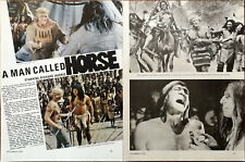 A Man Called Cheval Richard Harris, Judith Anderson Vintage Film Article 1970