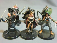 Dungeons & Dragons Miniatures Lot  Chaotic Evil Character Party !!  s83