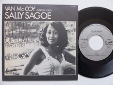 VAN MC COY introducing SALLY SAGOE A little bit of love 911036 France  RRR