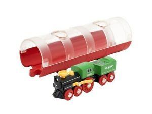 Brio Steam Train And Tunnel
