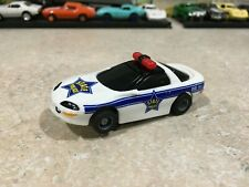 """TYCO HO SLOT CAR """" 95 CAMARO STAFF POLICE """" NMINT 440x2 CHASSIS"""