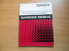 Werkstatthandbuch Service diagnosis manual Toyota Supra 7M-GE Engine - DM009E