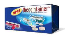 NUEVO!! THECOINTAINER CAJA 100 BLISTERS PORTAMONEDAS DE 0'05 EURO (11404)