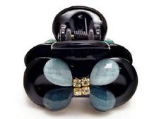 ConMiGo London N58J002 sequined jaw acrylic hair clip - blue