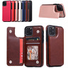 Leather Wallet Card Slot Case Cover For iPhone 11 Pro Max XS XR 8 7 6+ Plus 5 SE