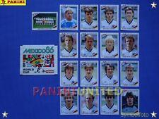 Panini★WM 1986 WorldCup WC 86★Team Deutschland komplett / Germany complete set