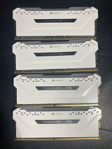 Corsair Vengeance RGB Pro 64GB DDR4 3600mhz C18 Ram CMW64GX4M4K3600C18W