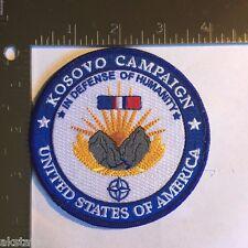 KOSOVO CAMPAIGN MEDAL COMMEMORATIVE PATCH