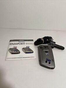 Escort Passport Radar 8500 x50 - W/manual - Tested Works